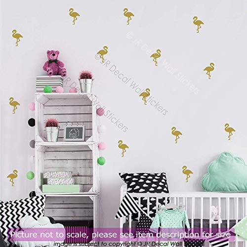 Set Flamingo Wall Stickers