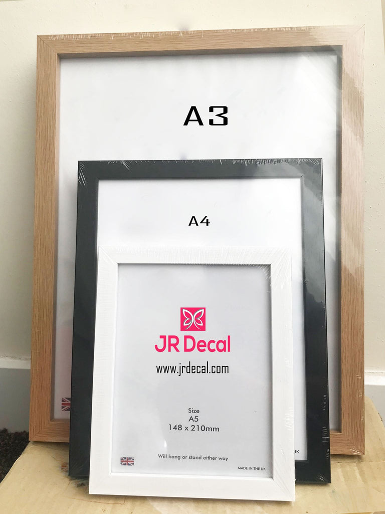 """Dad"" Printed Fathers day Personalized Photo Frame"