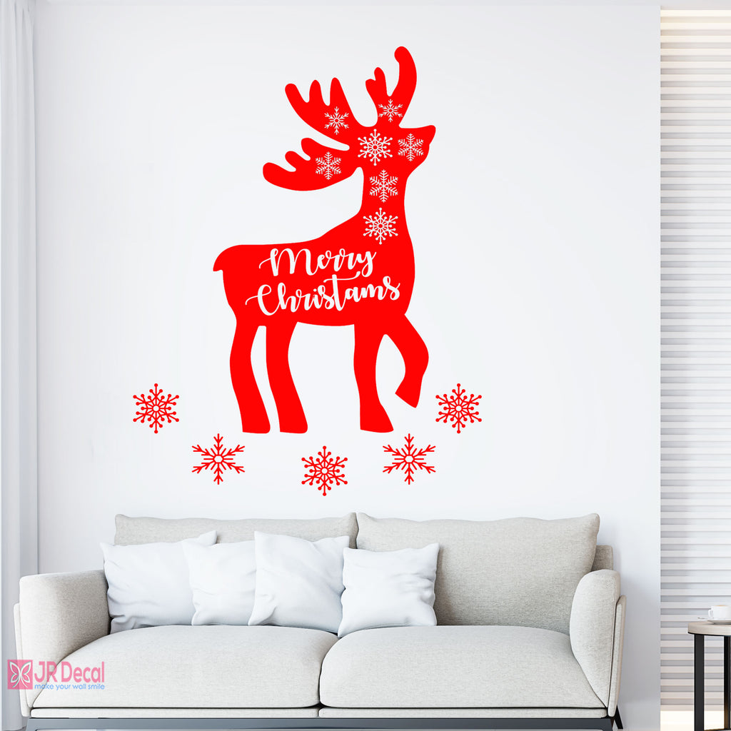 Reindeer Christmas Wall sticker