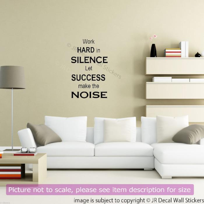 Inspiring Quote Vinyl Wall Decal