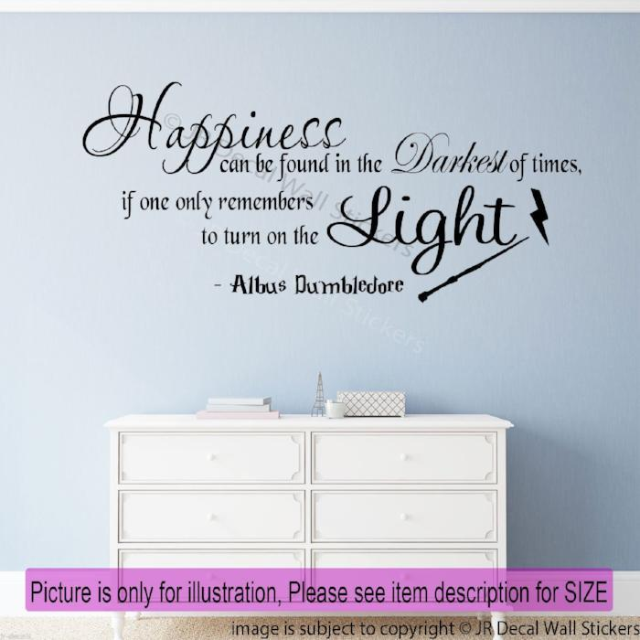 """Happiness can be found in the Darkest of times "" - Inspirational quote wall art"