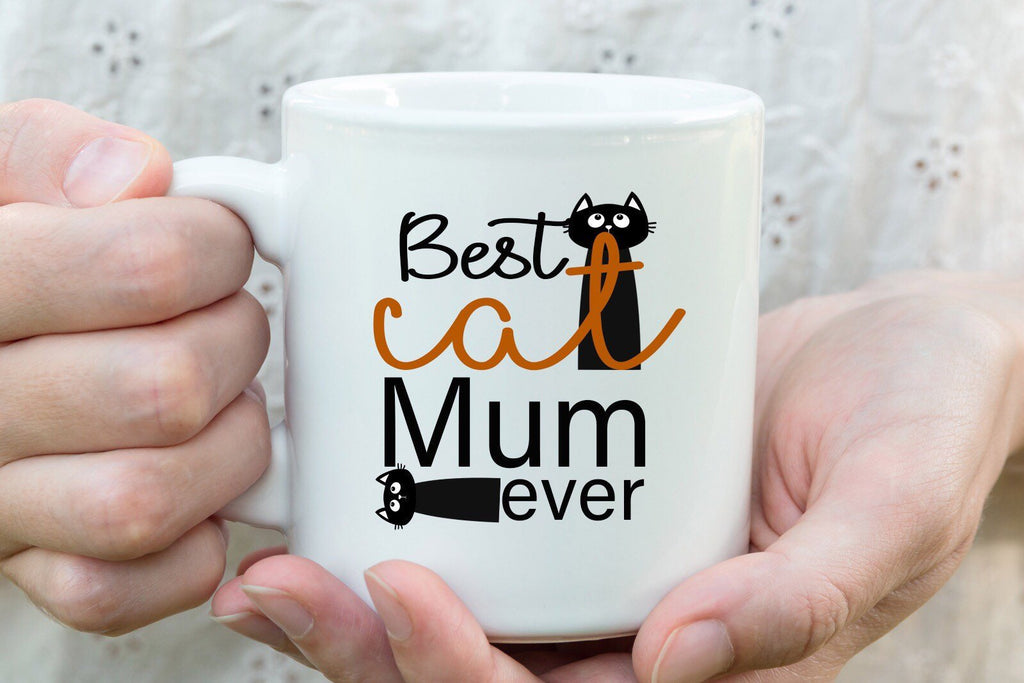 Best cat mum ever - Mothers Day Mug family love