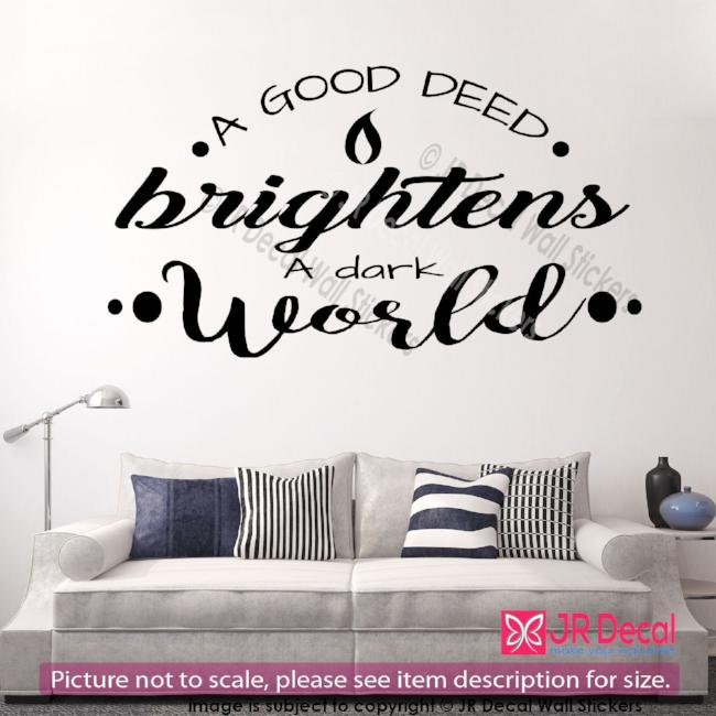 inspirational wall Decals Quote
