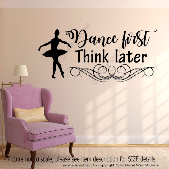 Dance stickers for walls