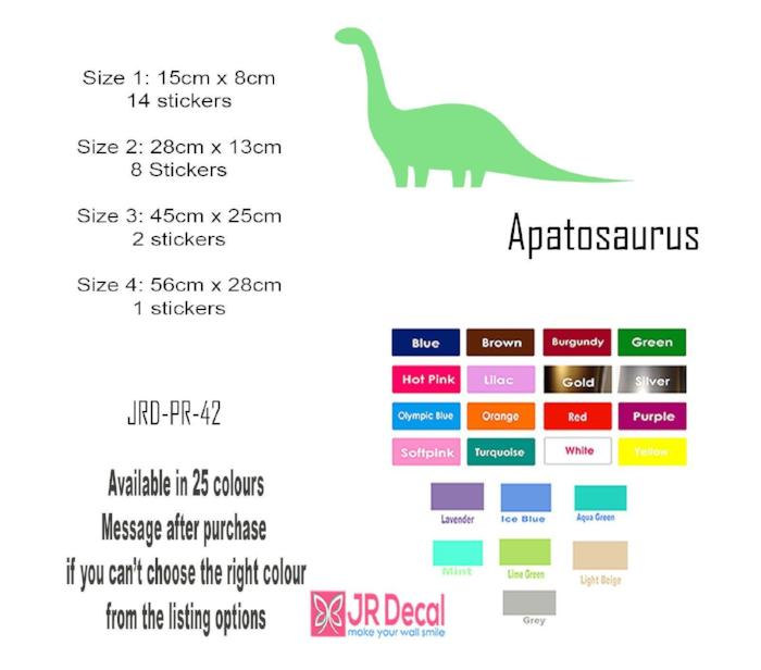 Apatosaurus Wall Sticker