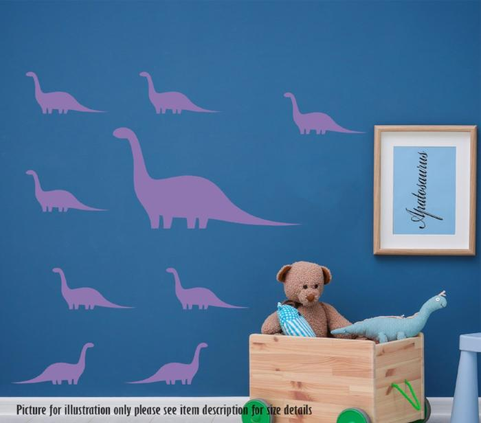 Apatosaurus Dinosaur Wall Art Sets