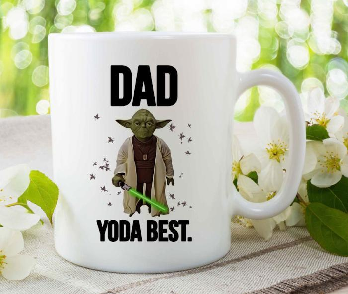 """DAD YODA BEST"" Funny Mug for Dad"