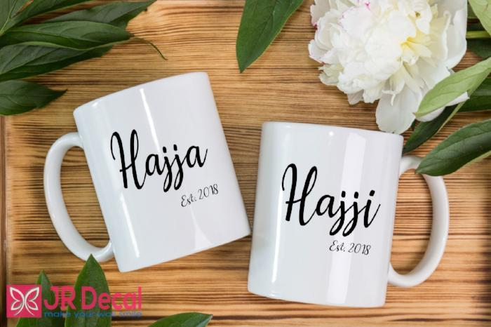 Hajja Hajji Printed Customizable Coffee Mug