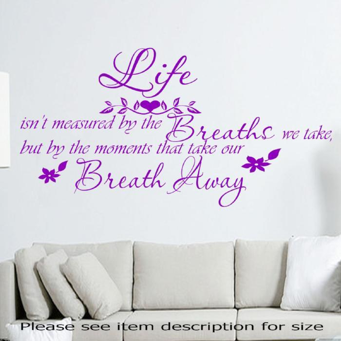 Motivational QUOTE  Vinyl Wall Decal