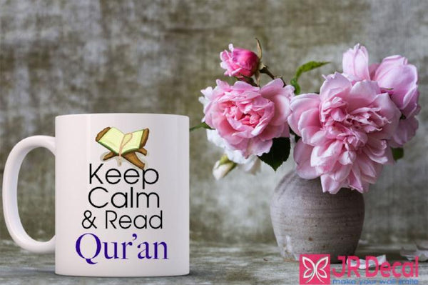 Keep Calm Read Quran Islamic printed Mug Eid Gift