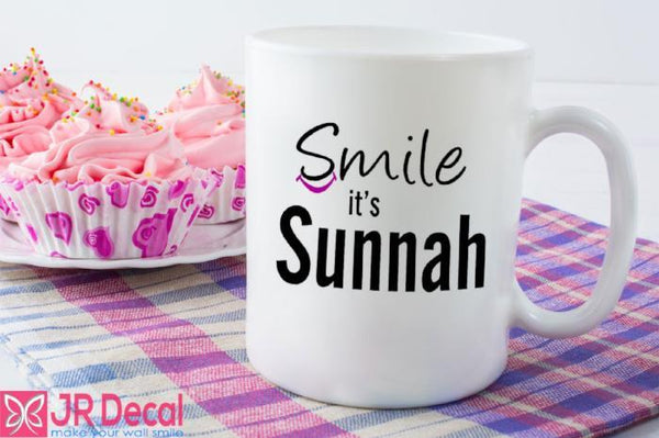 Smile it's Sunnah Printed Islamic Mug