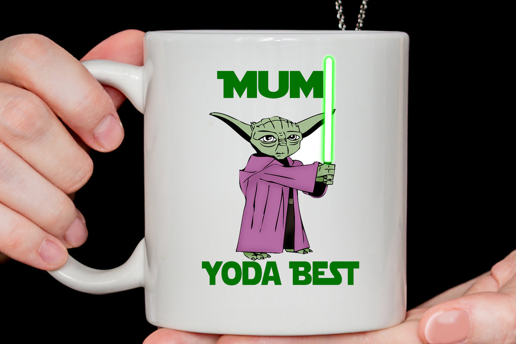 Mom Yoda best - Mothers Day Mug, funny mugs Mom