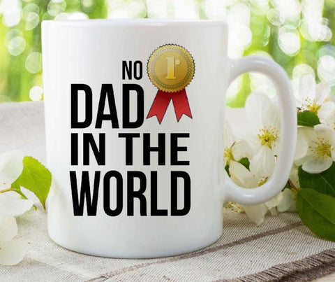 No 1 DAD in the world- Gift Mug