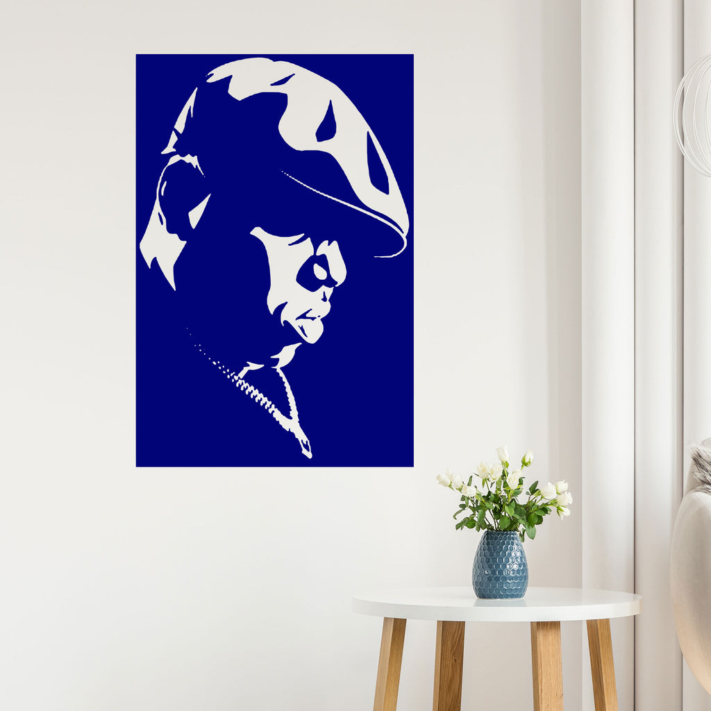 The Notorious B.I.G. Celebrity Wall Sticker