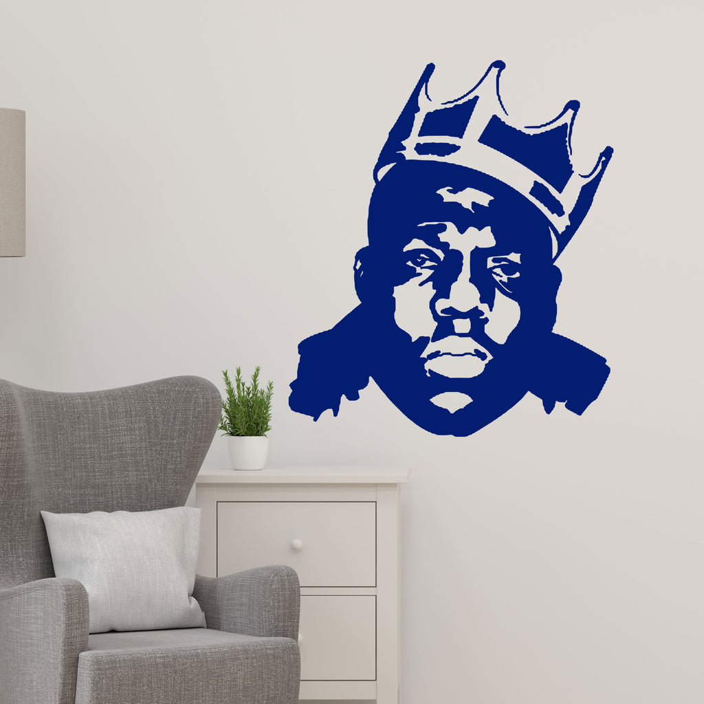 The Notorious B.I.G. Rapper Wall Stickers