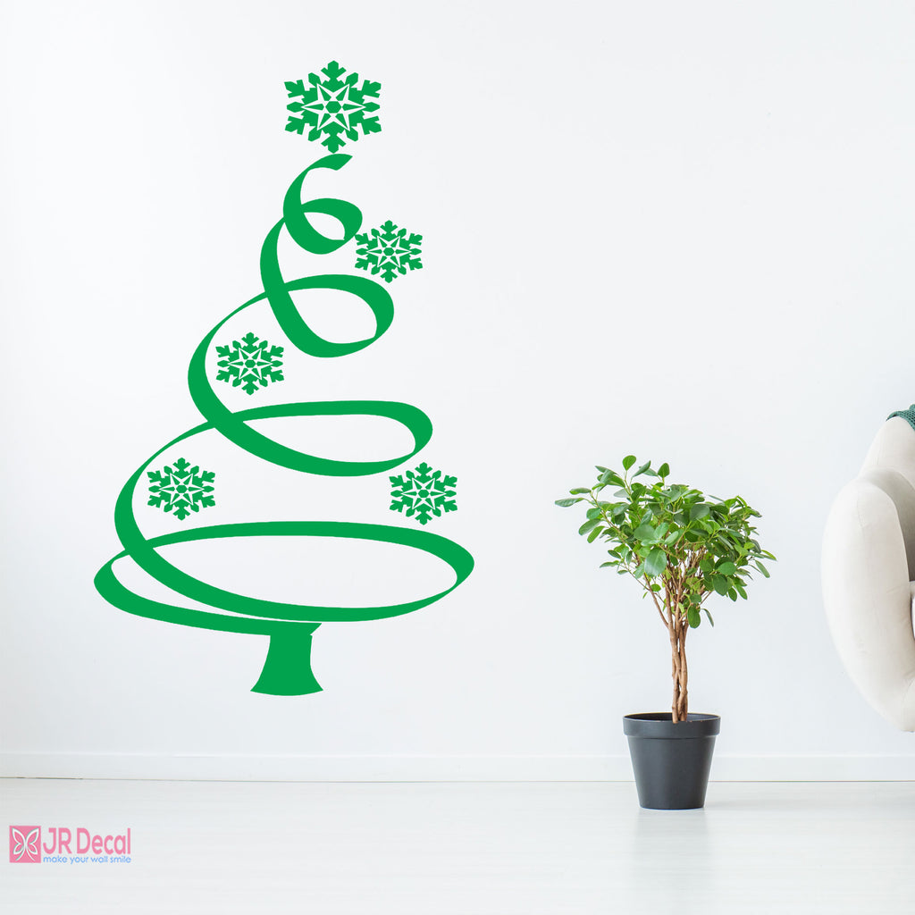 Christmas Tree Decorations Wall Stickers