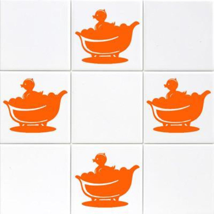 Duck Tile Wall Stickers JRD2