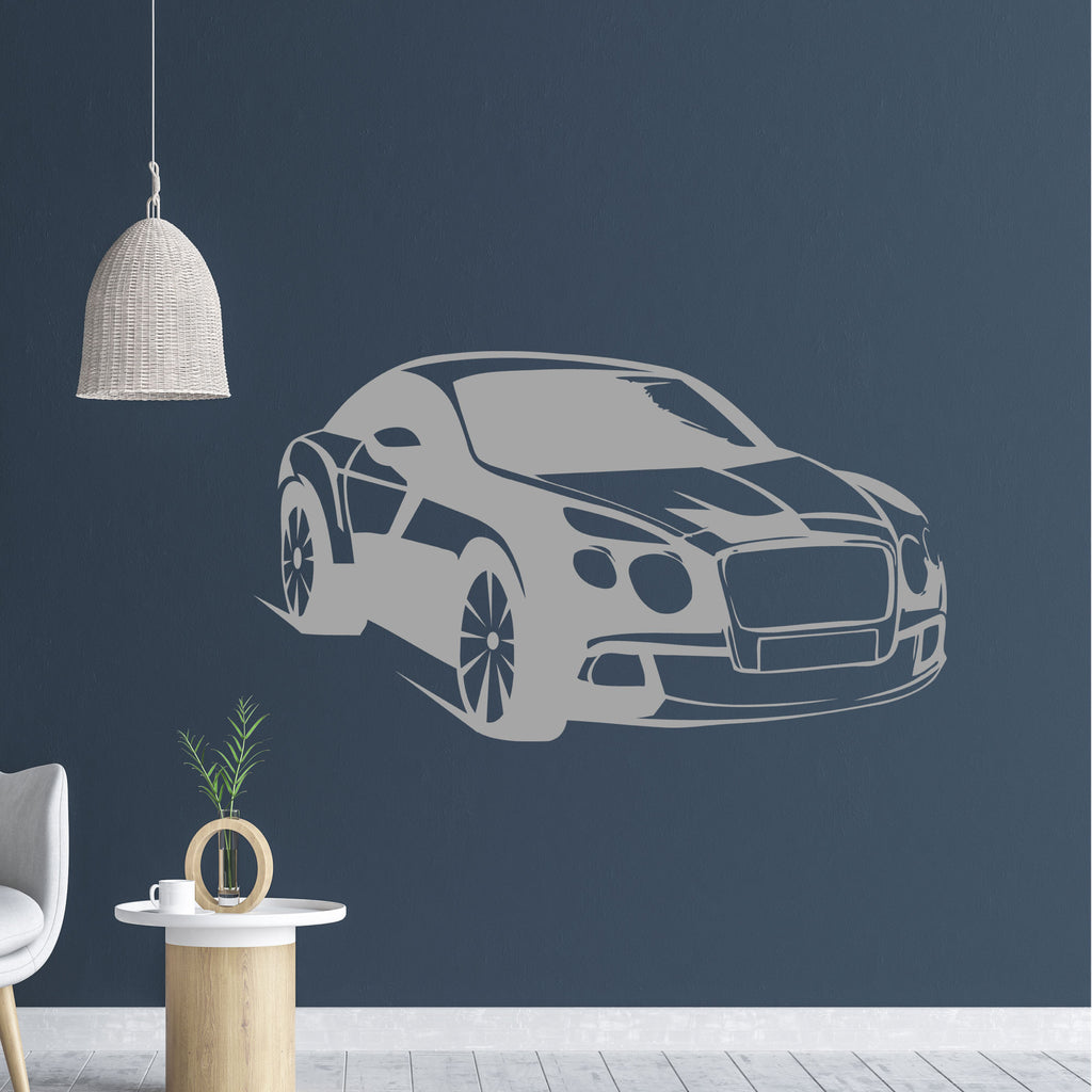 Stylish Car Wall Sticker for Boys Bedroom