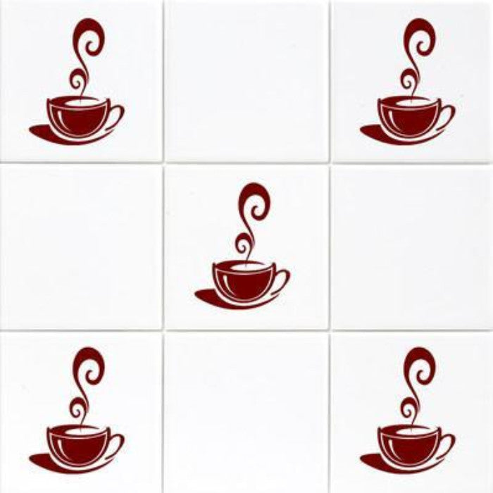 Coffee Cup Kitchen Tiles