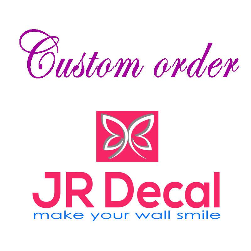 Personalised Wall quote stickers