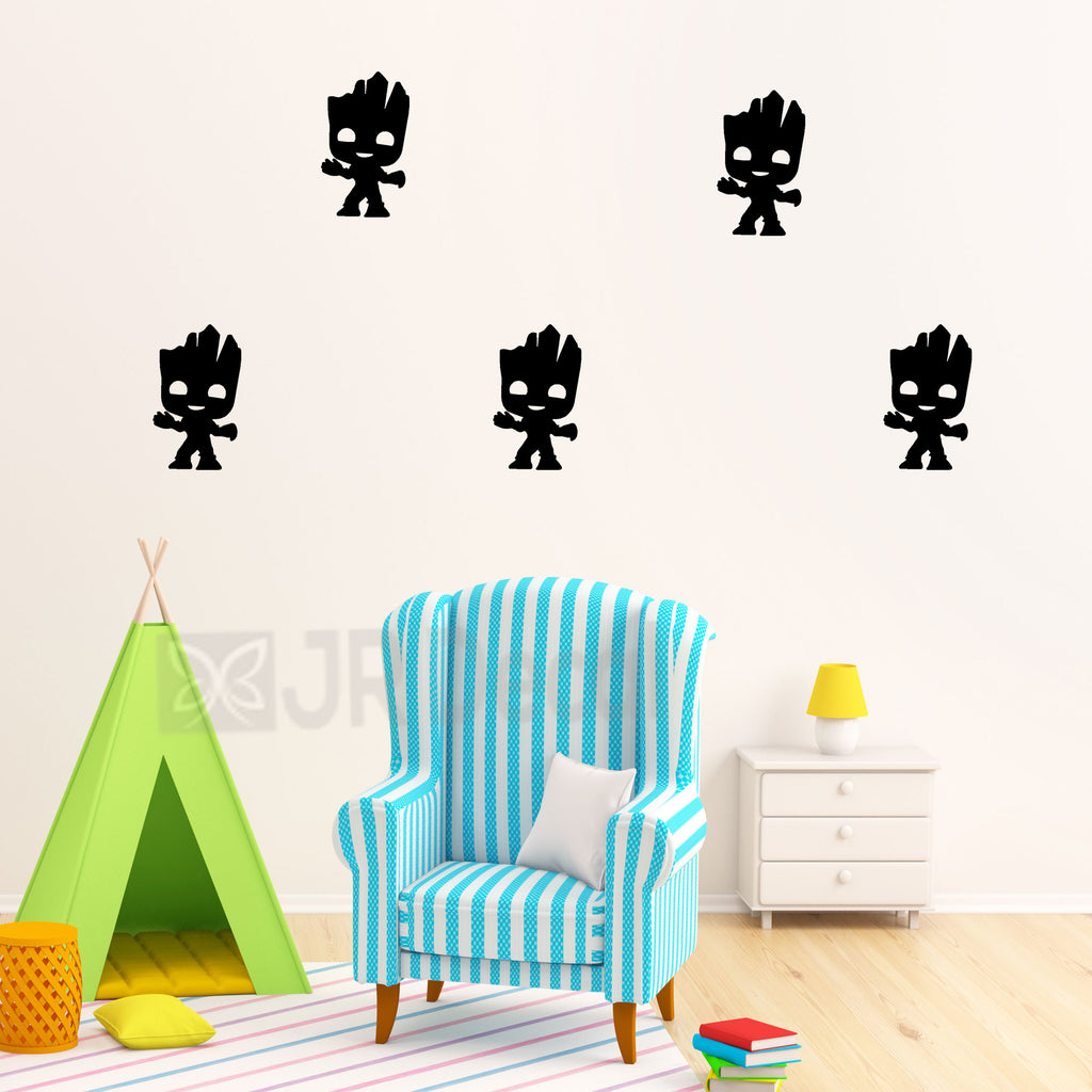 Baby Groot nursery wall stickers