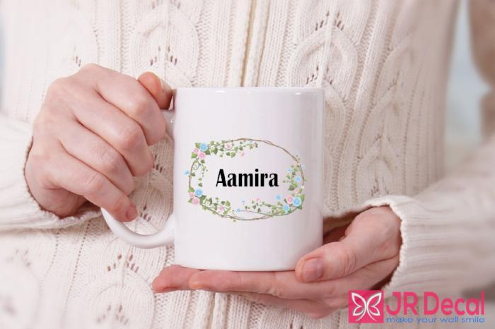 Muslim custom name  Islamic Mug Printed Islamic Coffee Mug