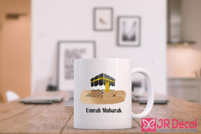 Umrah Mubarak Islamic Mug printed tea mug for Muslim novelty gift