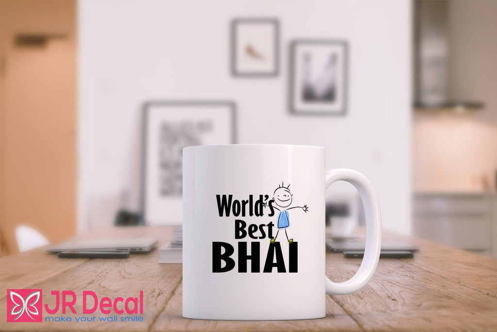 World Best Bhai - Islamic Mugs for your Brother