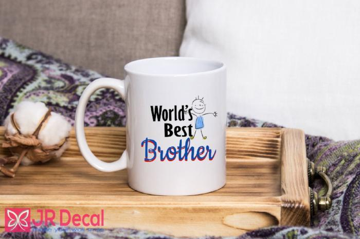 World Best Brother - Morning Coffee Mug