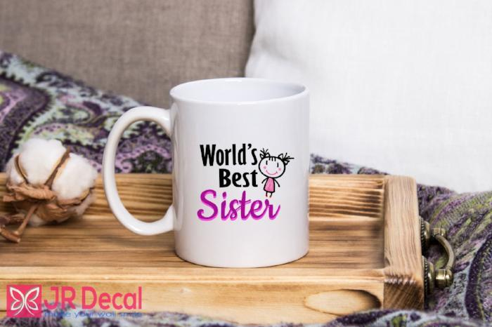 World Best Sister Mugs Coffee Mug