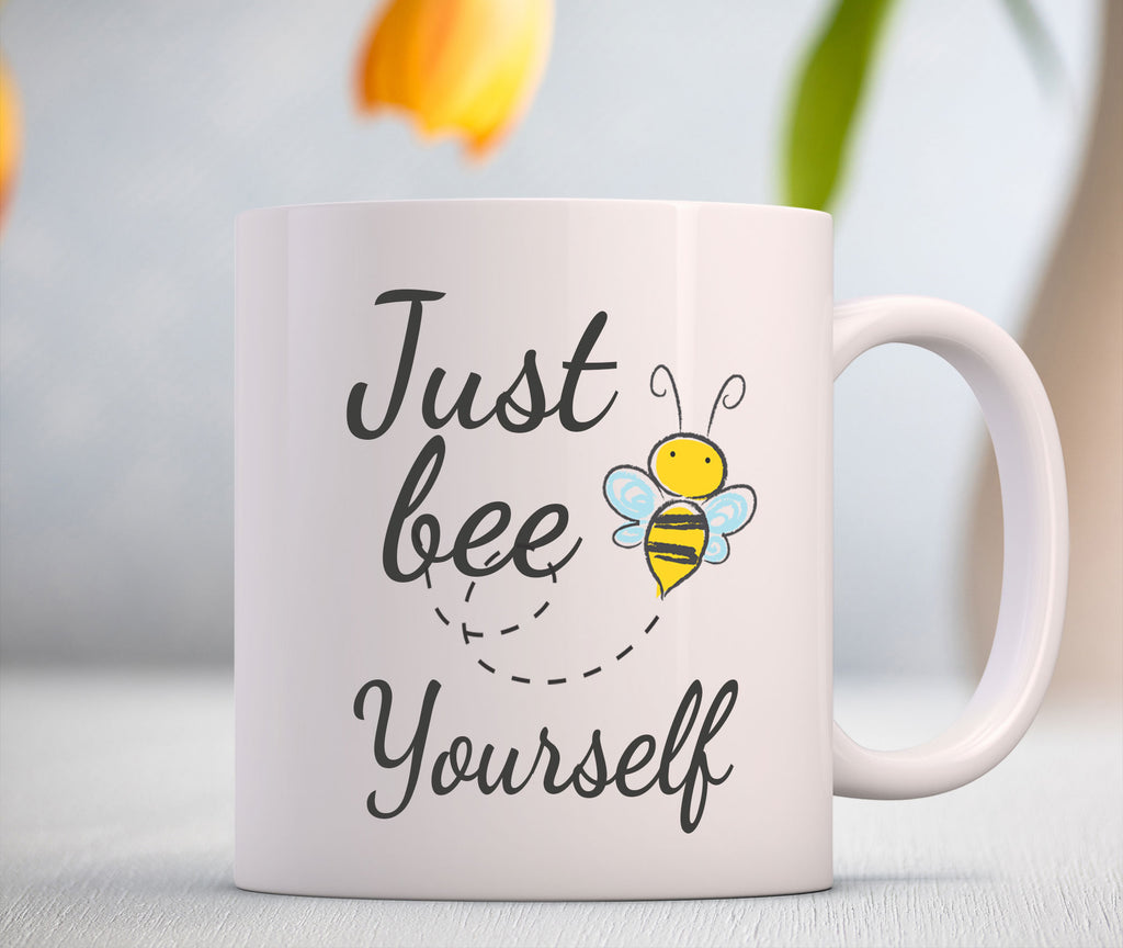 'Just bee yourself' Printed Birthday Gift Coffee Mug