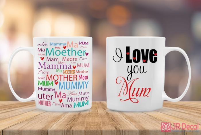 I love you Mum best Gift ideas for Mom's Birthday