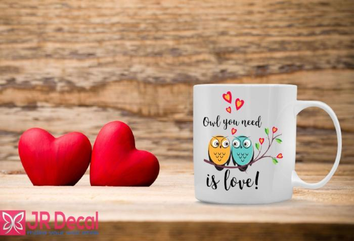 Only you need is Love Printed Coffee Mug D10