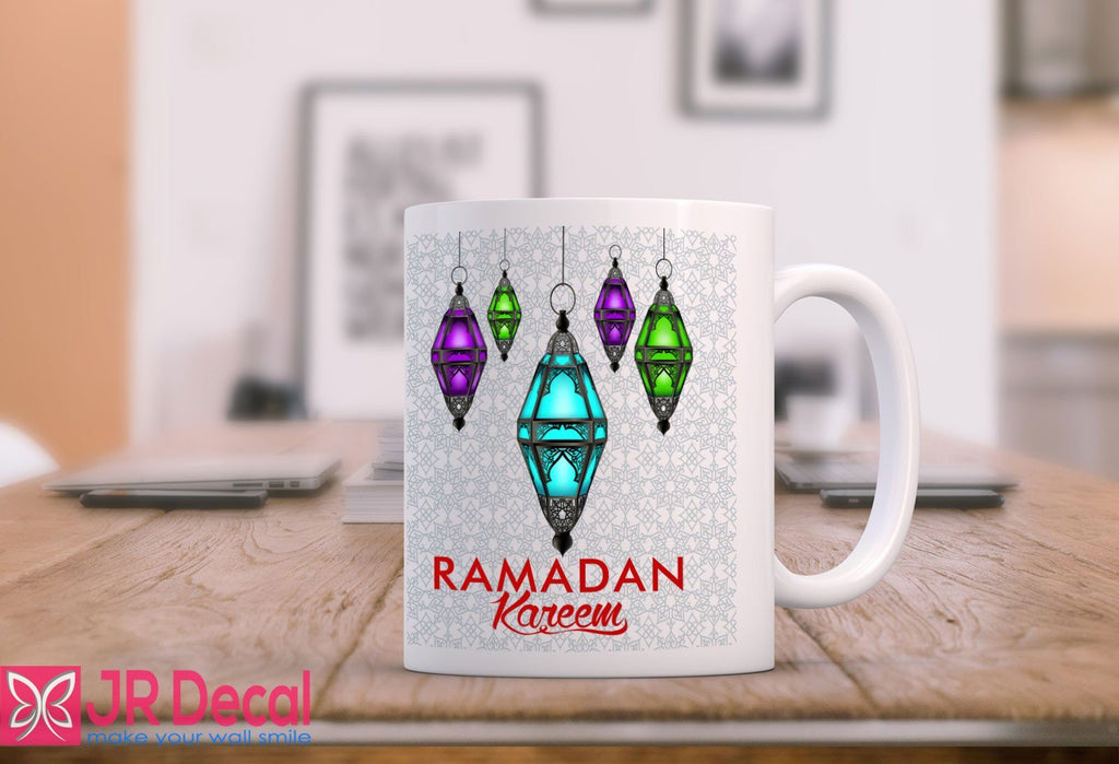 RAMADAN KAREEM with Lamp Printed Islamic Gift Mug