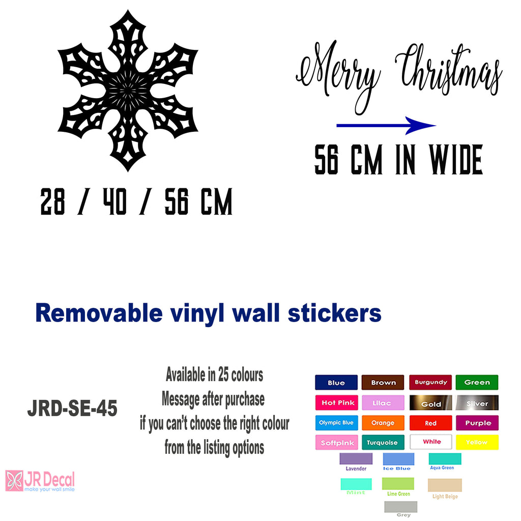 Snowflakes wall Stickers UK