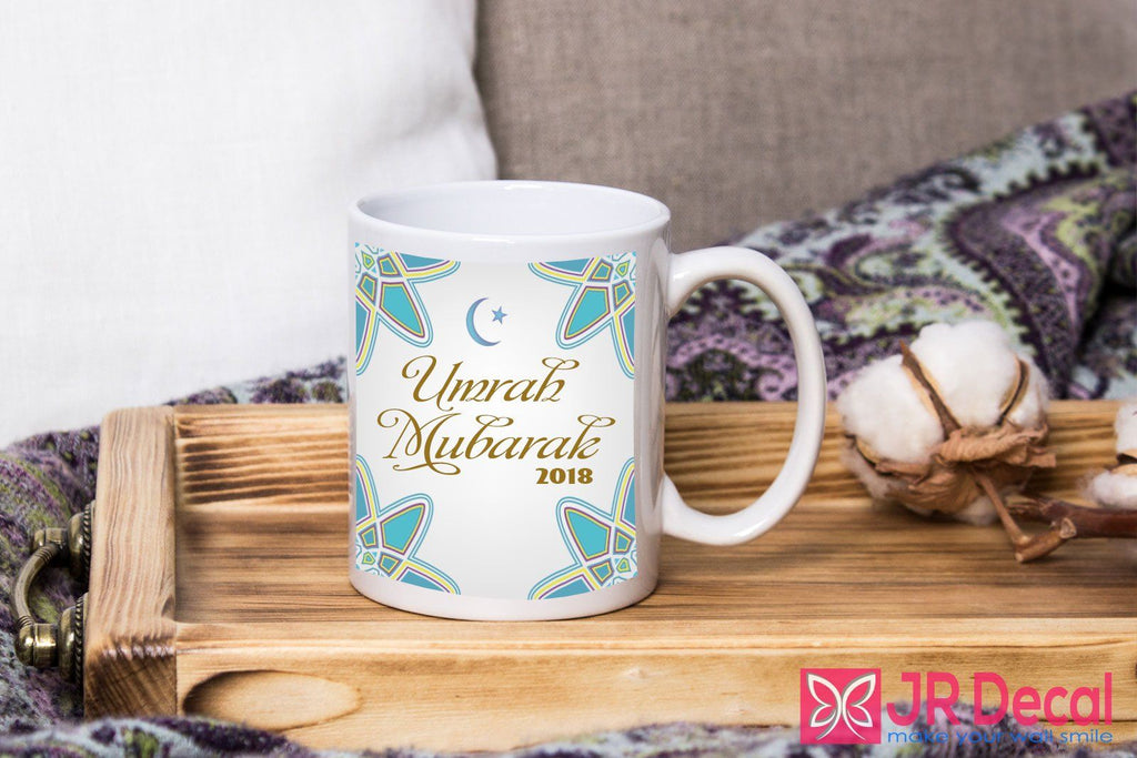 Umrah Mubarak With Personalised Year Mug