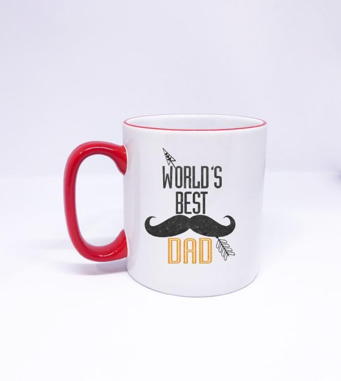 World's Best DAD- Mug for Father