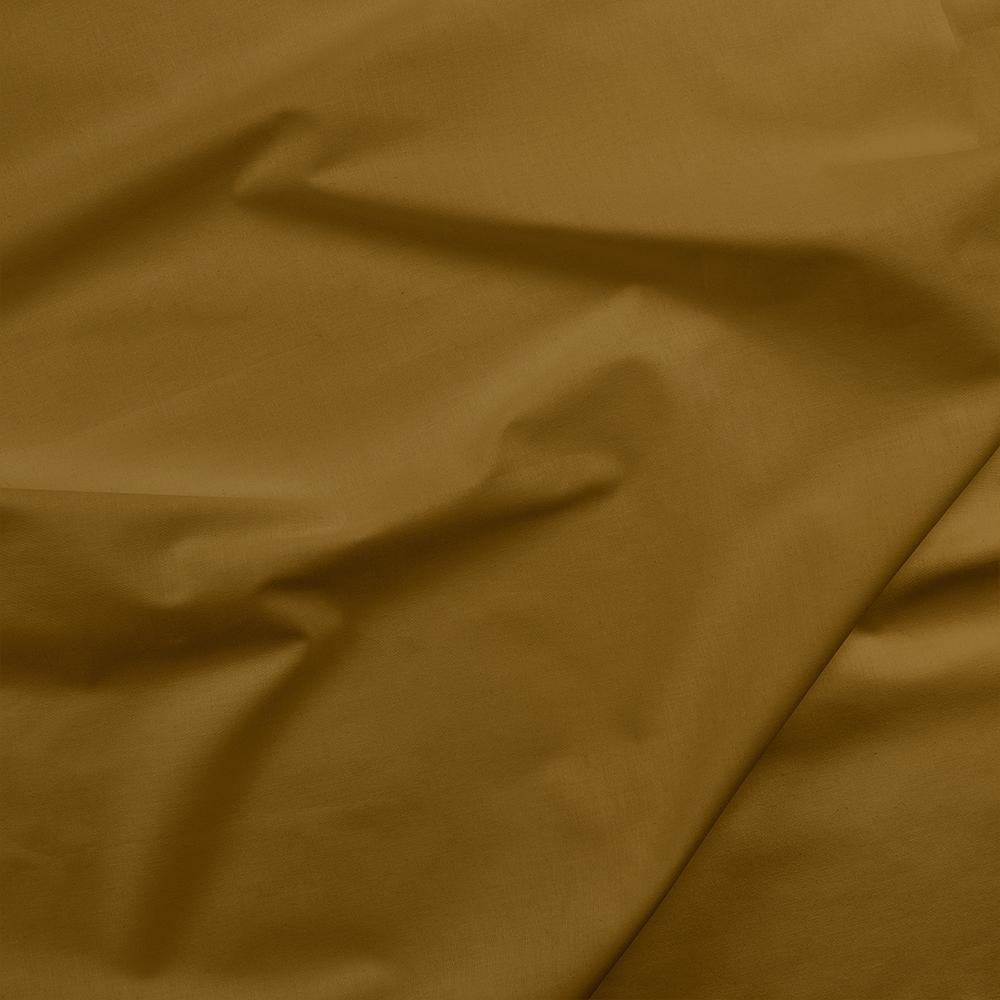 100% Cotton Basecloth Solid - Golden Brown - Paintbrush Studio Fabrics