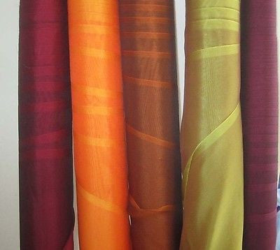 Sample Set - Iridescent Silk Chiffon