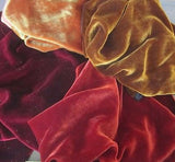 "Autumn Colors Sample Set - Silk Velvet 1/4 Yard x 45"" Each"