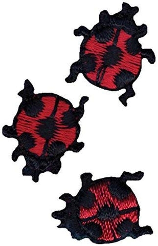 3 Pc Ladybugs - Iron-On Applique by Simplicity