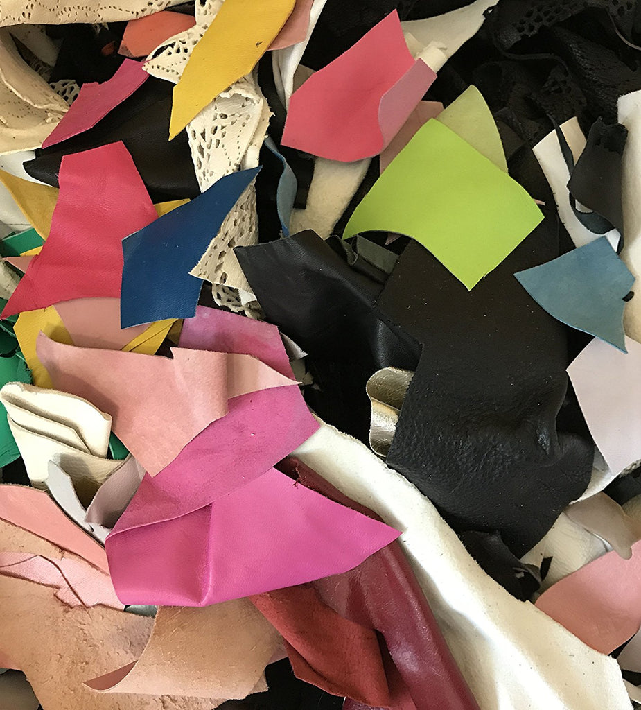 Leather Scrap Lot (1 Pound)