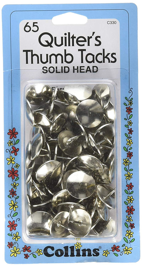 Prym Dritz C330 Quilters Thumb Tacks (65 Piece)