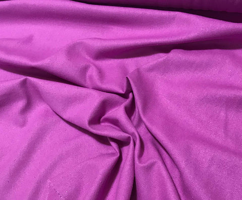 Bright Lilac - Silk Noil
