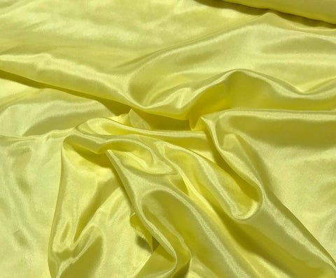 Bright Yellow - 8mm Silk Habotai
