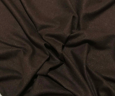 Chocolate Brown - Silk Noil