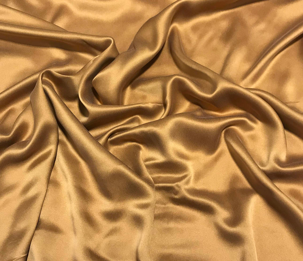 Copper - Sandwashed Silk Charmeuse