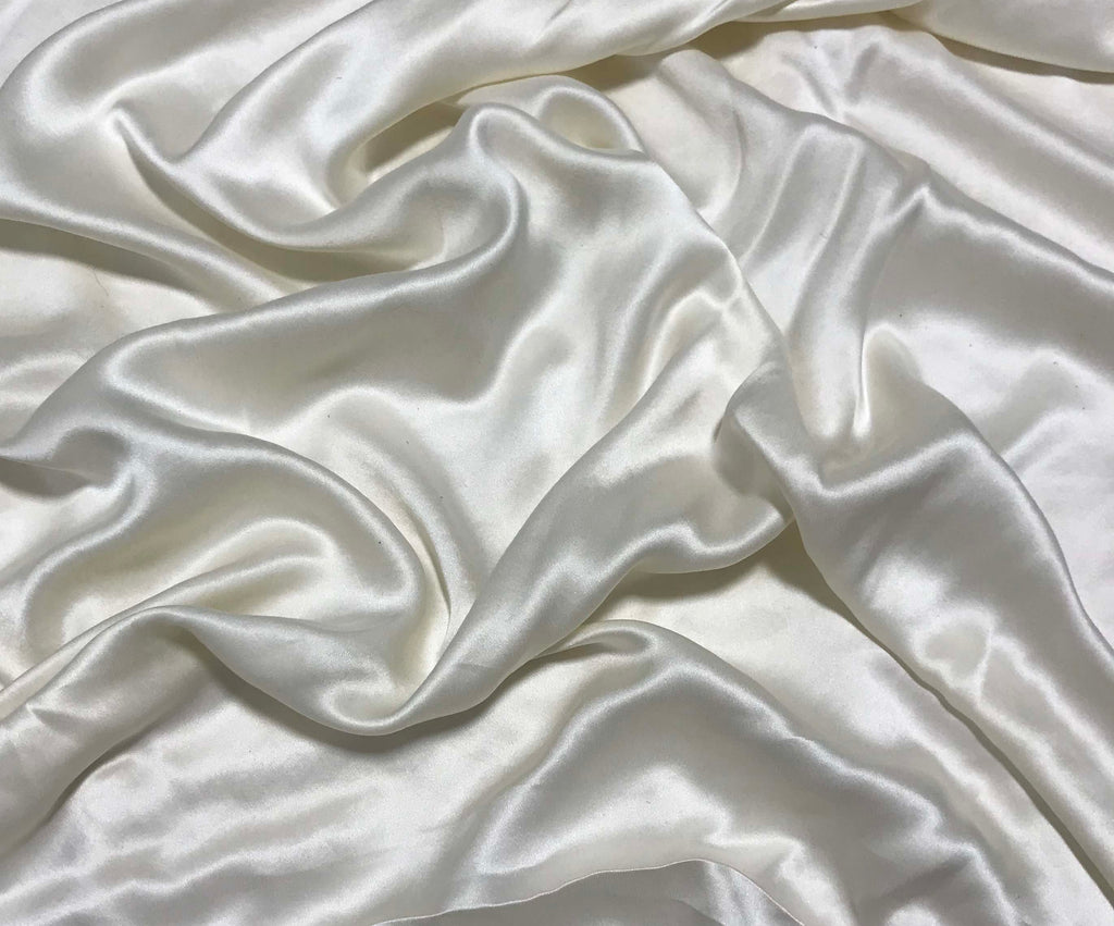 Cream - Sandwashed Silk Charmeuse