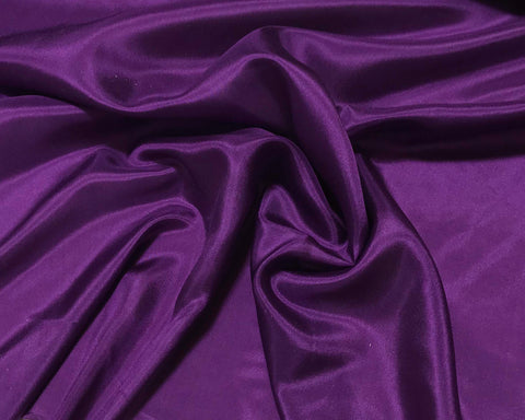 Eggplant Purple - 8mm Silk Habotai