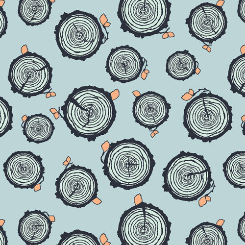Rooted Forester - Little Forester - By Maureen Cracknell for Art Gallery Fabrics 100% Cotton Fabric